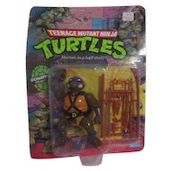 Teenage Mutant Ninja Turtles Donatello New in Box 1988