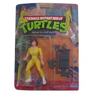 Teenage Mutant Ninja Turtles April O'Neil New in Box 1988