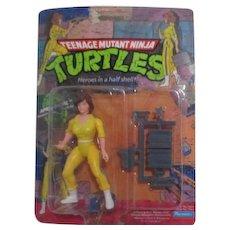 Teenage Mutant Ninja Turtles April O'Neil New in Box 1988