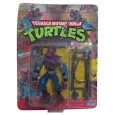 Teenage Mutant Ninja Turtles Foot Soldier New in Box 1988