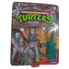 Teenage Mutant Ninja Turtles Casey Jones New in Box 1988