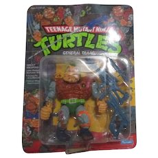 Teenage Mutant Ninja Turtles General Traag New in Box 1989