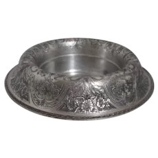 Wilcox Silver Plate Paisley Pattern Round Center Piece