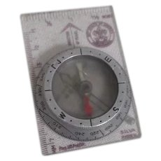 Boy Scout Mounted Compass Made in Sweden