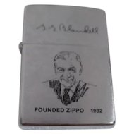Zippo Lighter with Founder Blandell