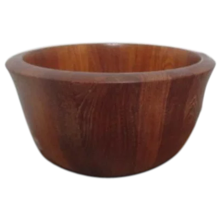 Large Dansk Wooden Bowl From Malaysia
