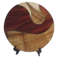 Hawaiian Rain Platter by DeEtte & Allan