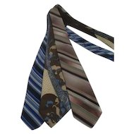 Set of 3 Men's Neckties