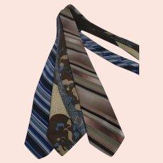 Set of 3 Men's Neckties
