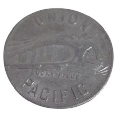 Union Pacific Aluminum Lucky Piece