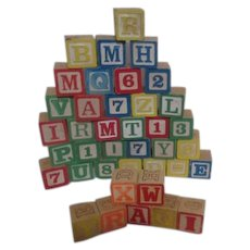Children's Wooden Blocks Two Sizes