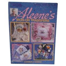 Aleene's Iron-on Transfers Leisure Arts Crafts