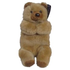 Opal London Huggable Animal Hottie Bear Holds Hot Water Bottle