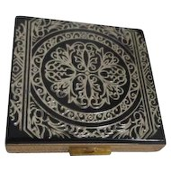 Black and Gold Woman's Compact Never Used