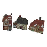 Dept 56 Heritage Village Collection Dicken's Village Set of 3 Buildings