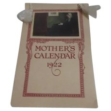 Mother's Calendar 1922 in Box
