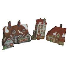 Dept 56 Heritage Village Collection Dicken's Village Set of 3 Buildings