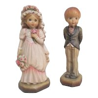Anri of Italy Sarah Kay Collection Woodcarved Bride and Groom