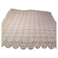 Crocheted Table Cloth