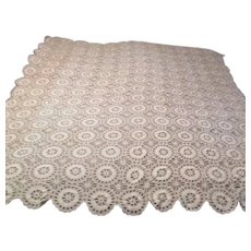Crocheted Table Cloth