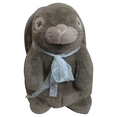 "16"" High Plush Brown Bunny"