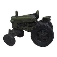 Hard Rubber Toy Tractor