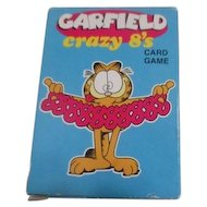 Garfield's Crazy 8's Card Game by U.S. Playing Card Co.