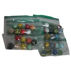 Set of 4 Marbles
