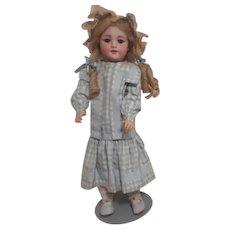 Antique Simon & Halbig 550 Doll on Stand