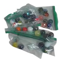 Set of 4 Shooter/Large Marbles