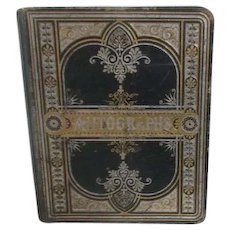 Personal Autograph book from 1886