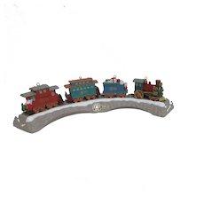 Hallmark Keepsake Christmas Train Ornaments