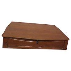 Holmes & Edwards/International Silver-Silver Fashion-Silver Plate Dinner Ware 51 pc in Wood Storage Box