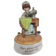 Holly Hobby Figurine Music Box