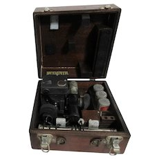Fairchild A10A Sextant in Case Compass Type Piece Air Force U.S. Army