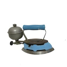 Coleman Self Heating Gas Sad Iron c1930