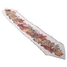 Autumn/Thanksgiving Table/Buffet Runner by David Carter Brown