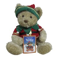 Wellington the Christmas Bear with Booklet Story