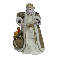 Father Christmas with Bag of Toys Tree Topper