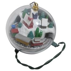 Hallmark Light and Motion Christmas Tree Ornament Village Express