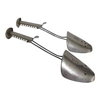Two Pairs of Metal Shoe Trees