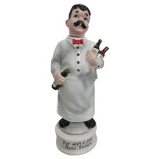 """Musical Wine Steward Decanter """"For He's a Jolly Good Fellow"""""""