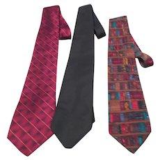 Set of 3 Men's Ties from Mervyn's