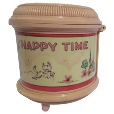 Lady Mate Happy Time Music Box and Jewelry Box