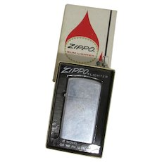 Zippo Slim Line Lighter with Original Box