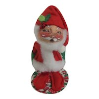Annalee Soft Sculpture Santa Doll