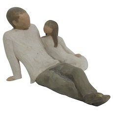 Willow Tree Figurine of Father & Daughter