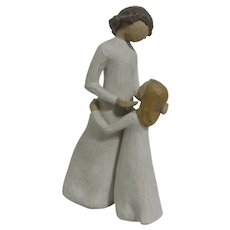 Willow Tree Figurine of Mother & Daughter