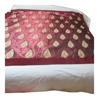 """62"""" x 62"""" Reversible Tapestry Tablecloth"""