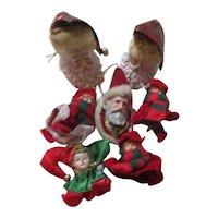 Set of 7 Unbreakable Christmas Tree Ornaments